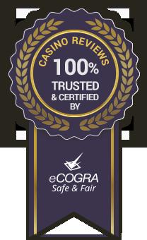 Trusted online casinos badge